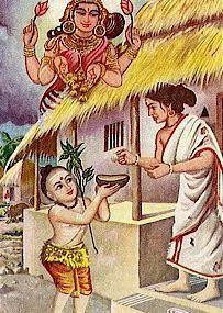 shankara begging