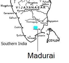 MapofMadurai