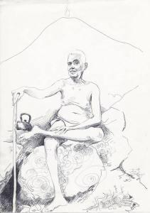 ramana drawing