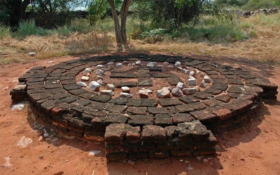 vedic fire altar.chattisgarh