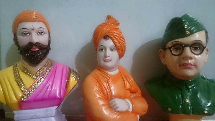 சிவாஜி, விவேகா, நேதாஜி