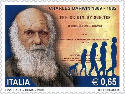 darwin_italy_stamp