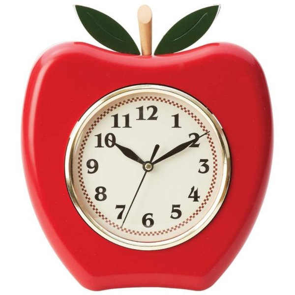 apple-kitchen-wall-clocks