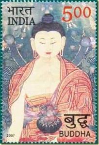 India-Bhudda-Stamp