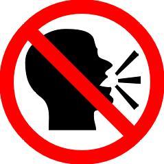 no-talking
