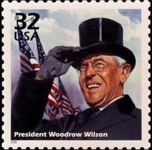 WoodrowWilsonStamp