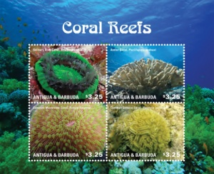 coral stamps
