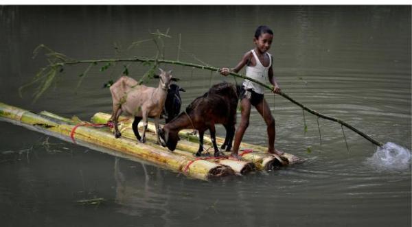 assam floods, hindu