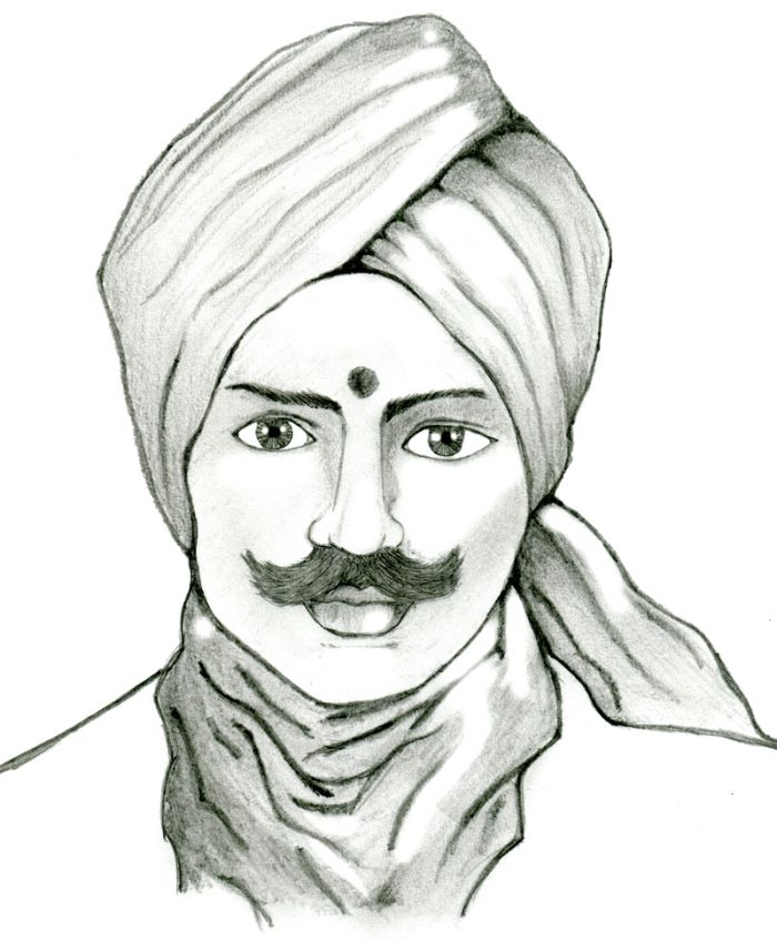 bharati drawing