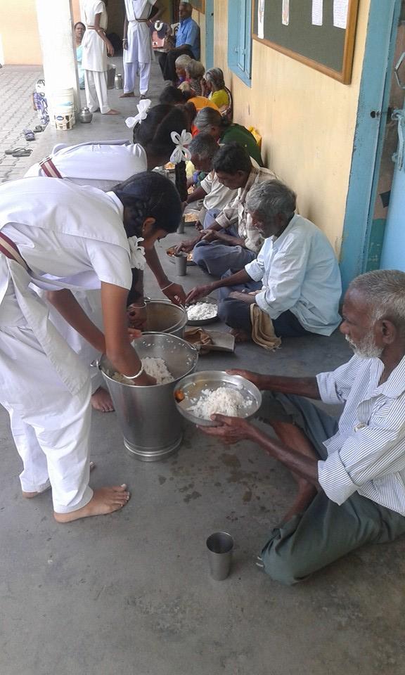 narayana seva, badravathi
