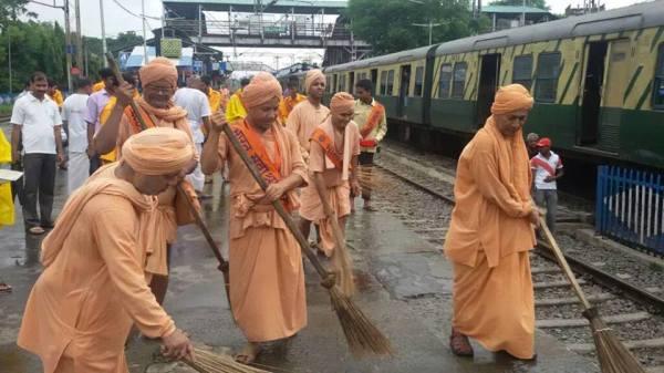 cleaning saints