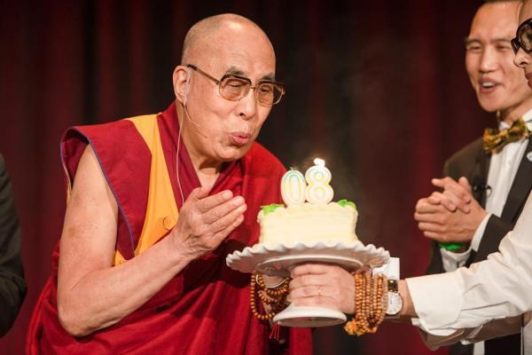 dalai's 80th BD in california