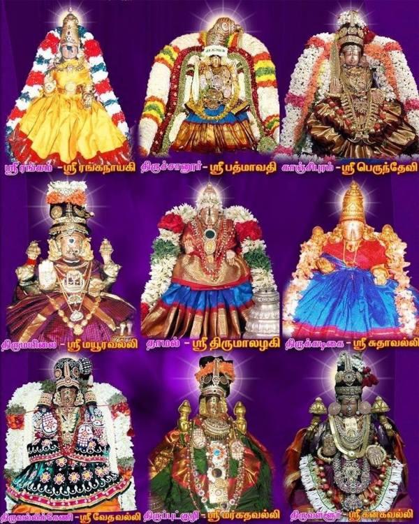 lakshmi in kshetras