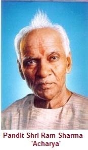 pandit shri ram sharma acharya