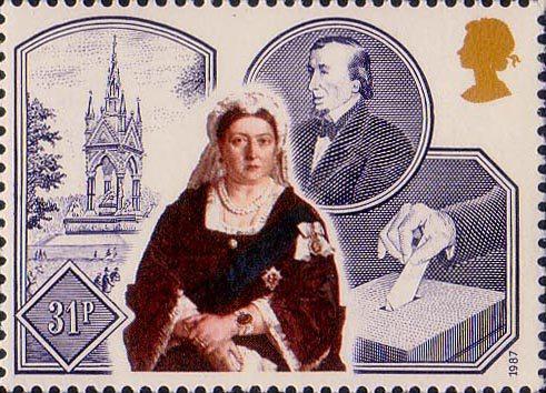 disraeli stamp