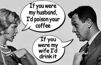 Joke - Quarrel Using Husband & Wife Analogy