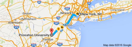 NY map