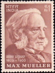 610-Max-Mueller-India-Stamp-1974-225x300