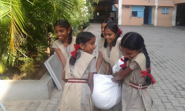 bhadravati girls, Sai school