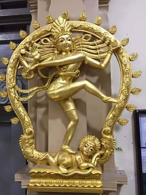nataraja, golden, fb