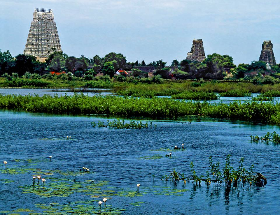 3 towers in kanchi