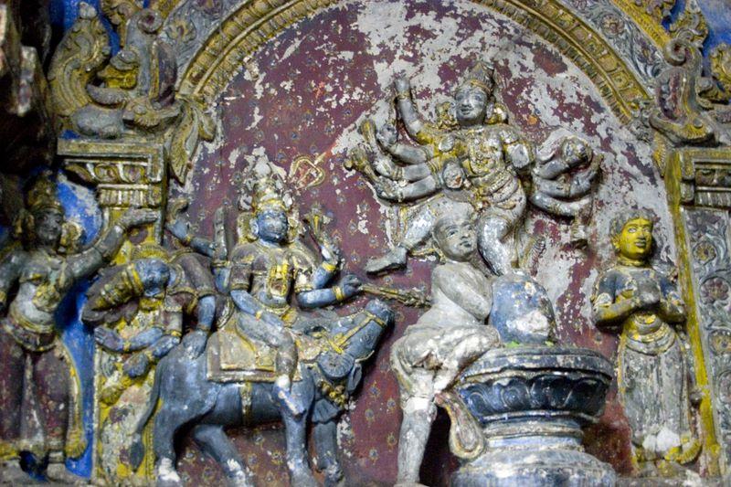 thajavur big temple yama