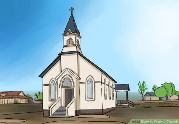 Draw-a-Church-Step-1