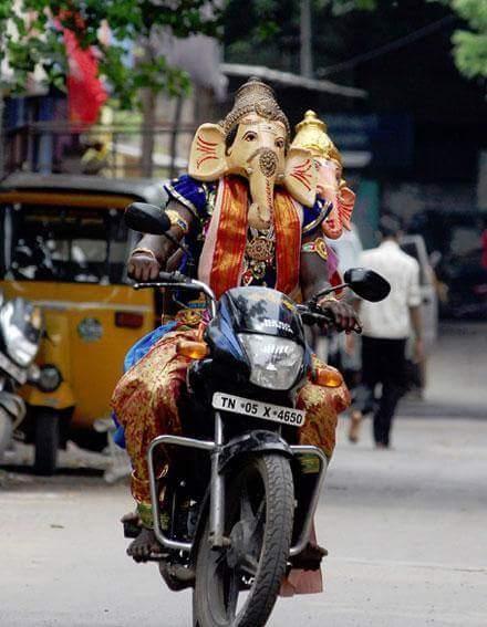 chennai ganesh motorcycle