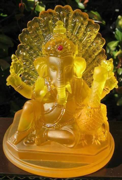 ganesh yellow gem