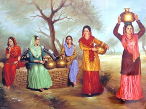punjabi-ladies-near-village-well-AV97_l