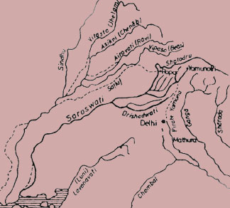 saraswati-map