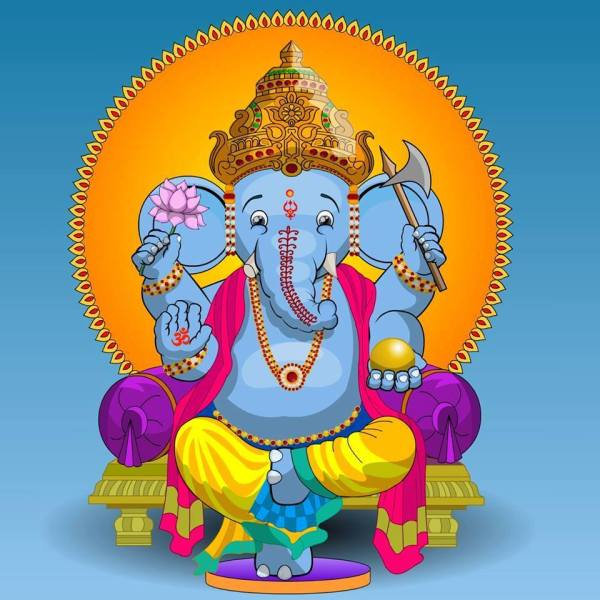 colour ganesh from madur kulasekar