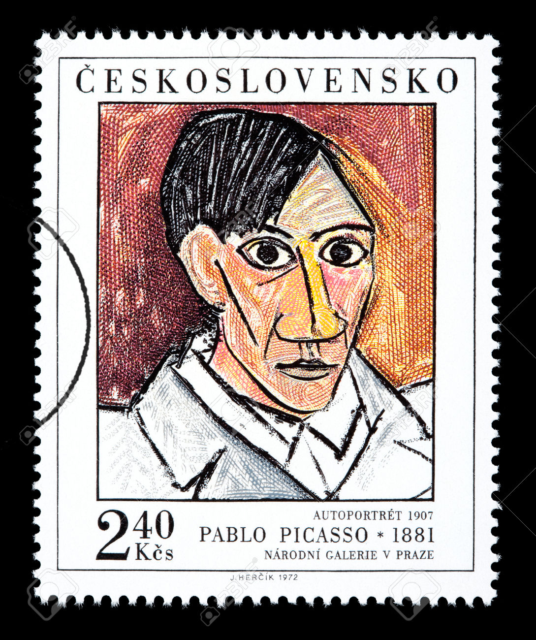 Pablo Picasso Postage Stamp
