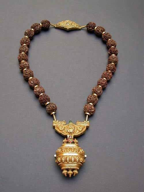 rudraksah-mala-with-gold