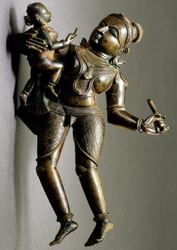 bronze-woman