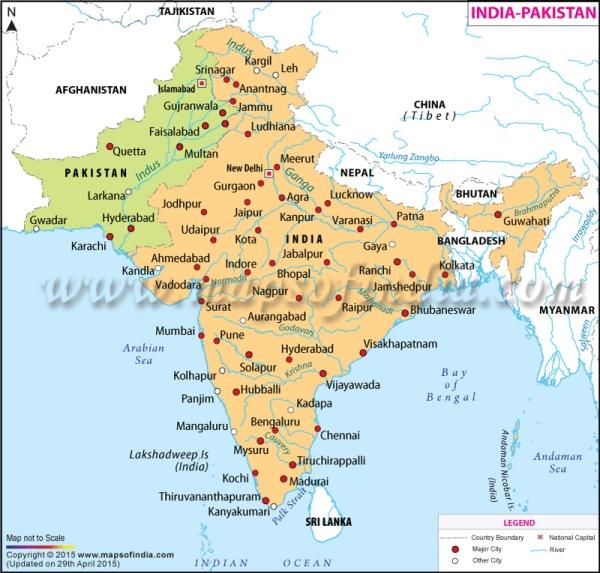 india-pakistan-map
