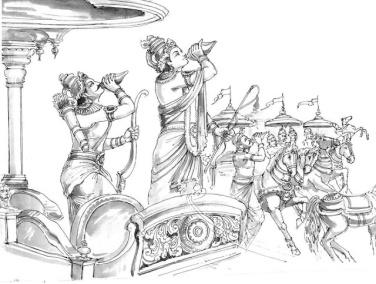 Line Art Thiruvalluvar Pencil Drawing Images