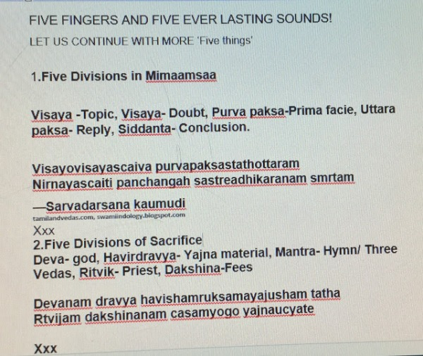 Culture | Tamil and Vedas | Page 4